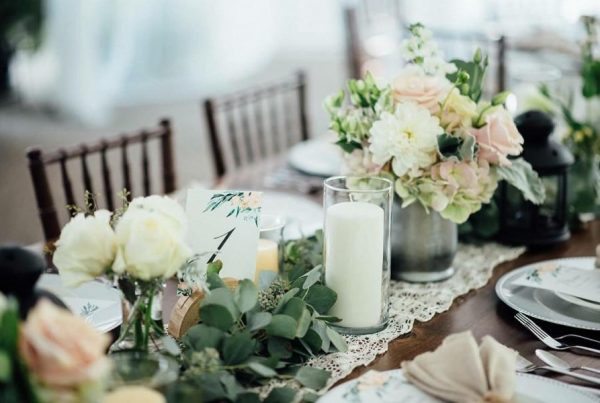 Wedding Decoration with Eucalyptus