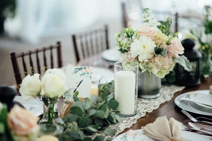 Wedding Decoration with Eucalyptus