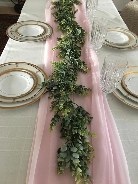 eucalyptus Table Runner