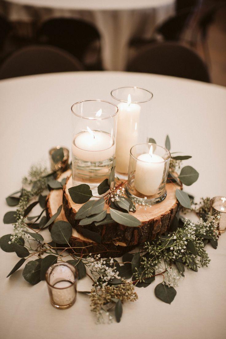 eucalyptus candles decoration