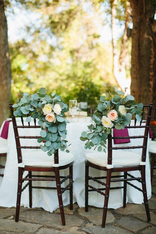 eucalyptus chairs décor