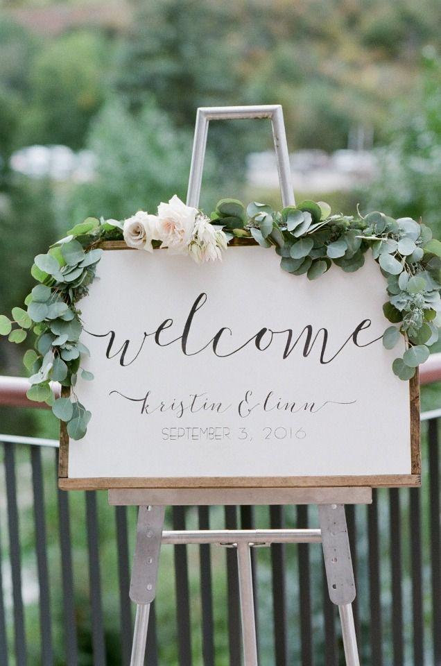eucalyptus welcome signs